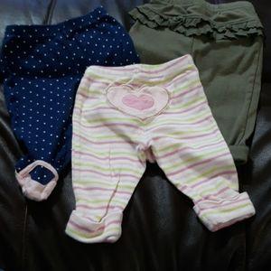 Carters leggings bundle